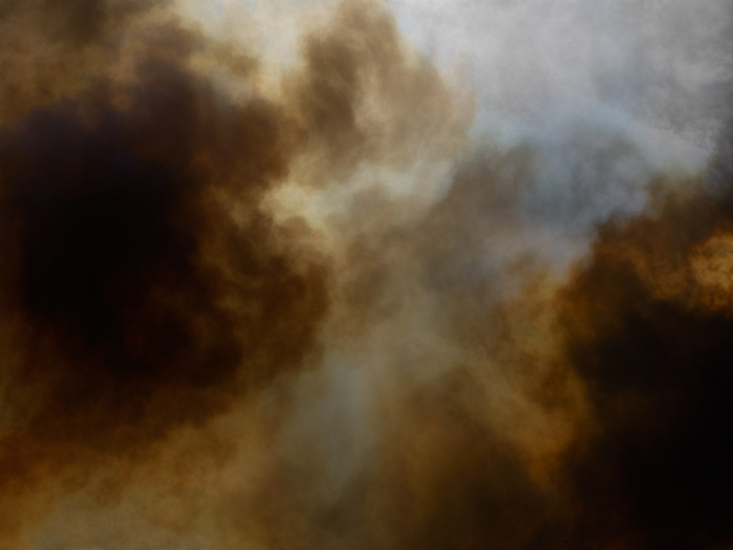 Smoke fire color abstract fine art photography by photographer Kenneth Rimm